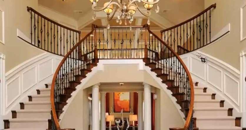 Лестница 3d max перила