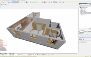 Экспорт модели квартиры из архикада в 3ds max для последующей визуализации