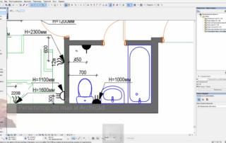 Корректировка плана электрики в соответствии с моделью