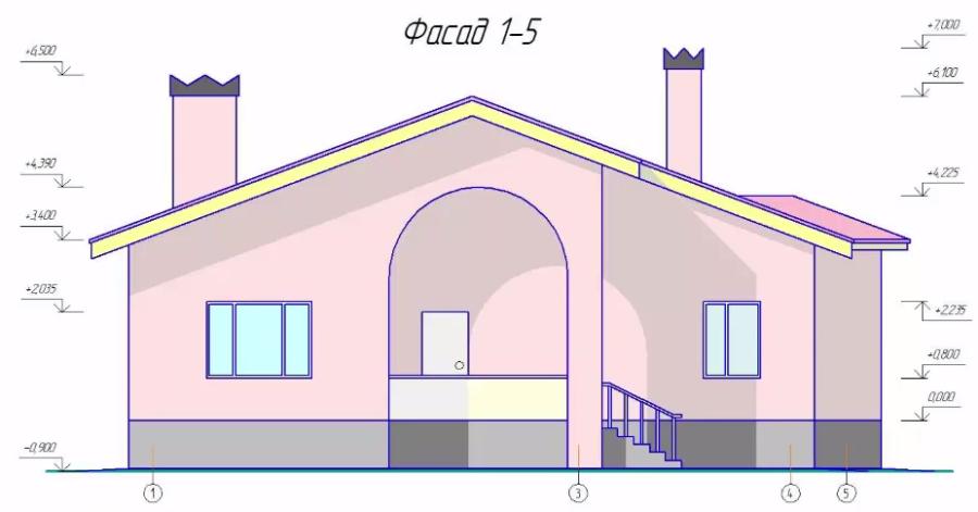 Сделать дом в Архикаде