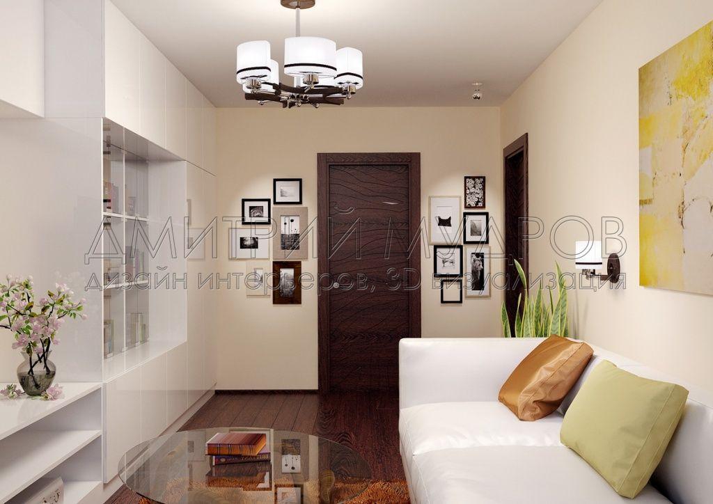 Дизайн гостиной в 3d max
