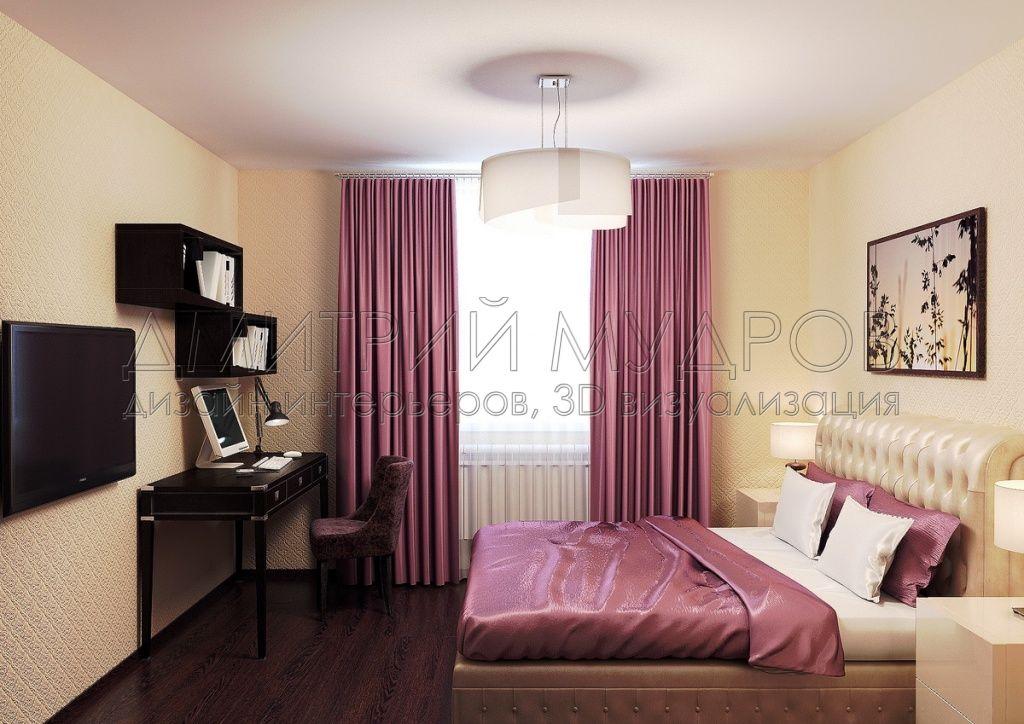 Создание интерьера спальни в 3d max