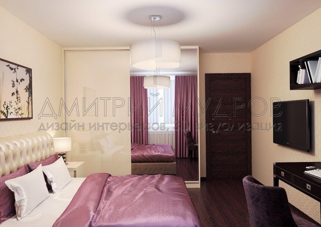 Дизайн интерьера спальни в 3d max