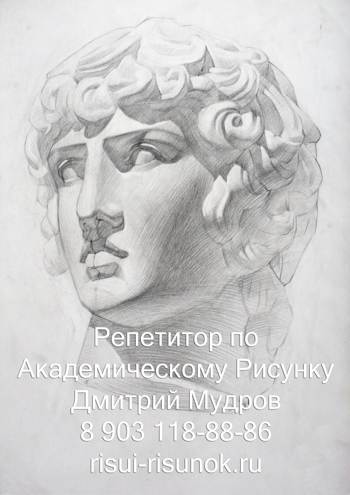 академический рисунок головы книга