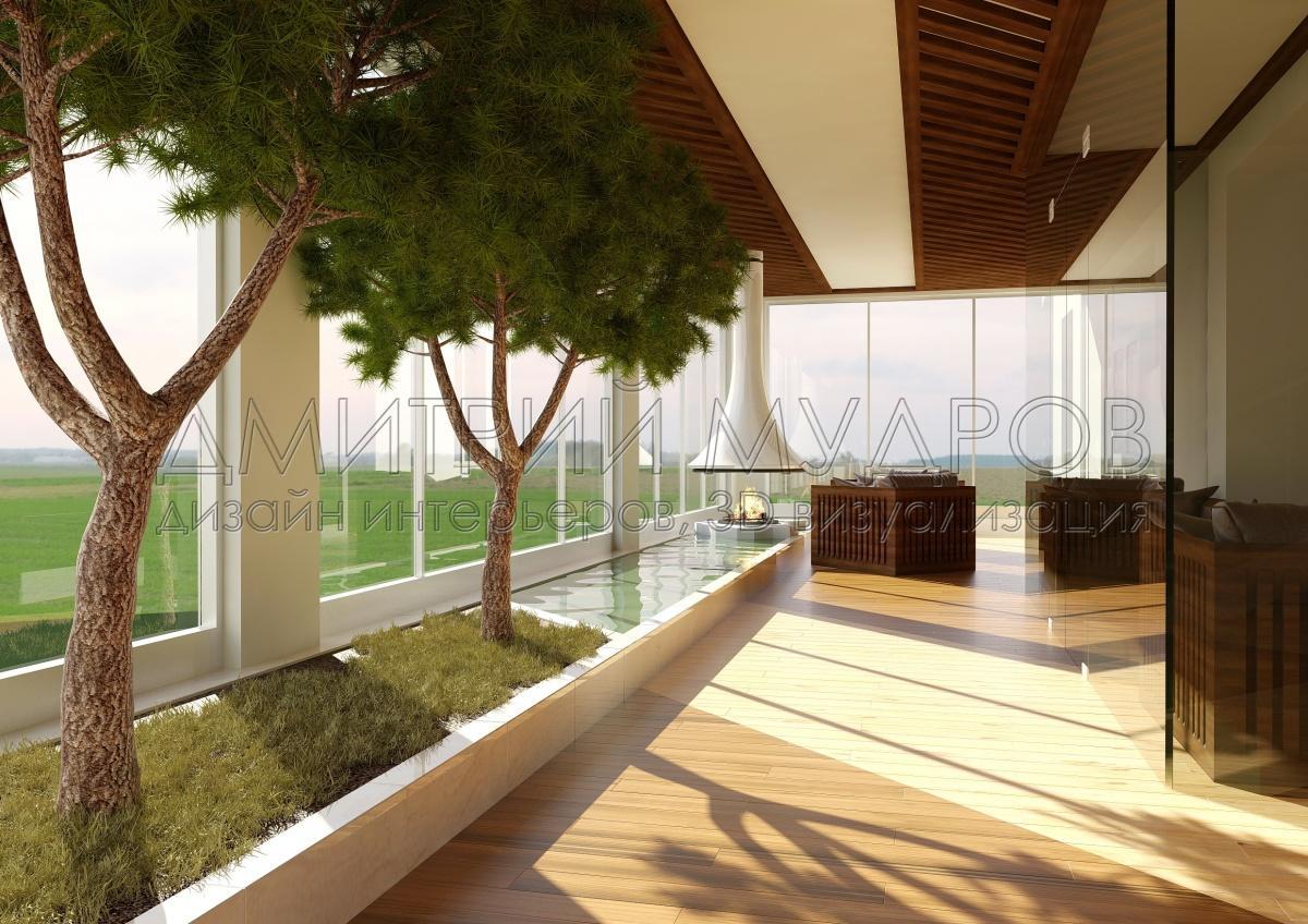 Современная Школа Дизайна | Визуализация интерьеров дома