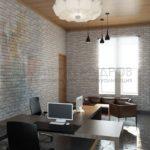 Визуализация офисного интерьера