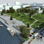 Проект набережной с прилегающей территорией